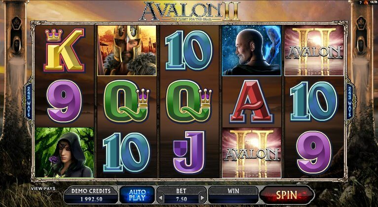 Microgaming's Avalon II latest Slot Release