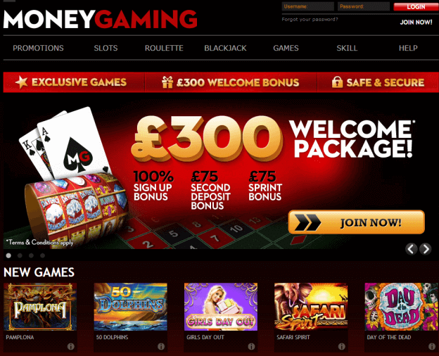 Find the Details about MoneyGaming Casino